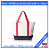 Women′s Summer Medium Canvas Shopping Tote Bag