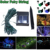 20m Length Solar LED Fairy String Light for Christmas