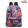 Fashion Printed Canvas Satchel Bag Daypack Backpack for Hiking, Travelling