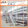 Steel Multi-Tier Mezzanine Floor Rack for Warehouse Storage
