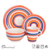 16PCS Handpainted Ceramic Dinner Set Manufacture
