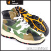 PU/Rubber Outsole Ankle Hiking Shoe with Steel Toe (SN5390)