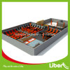 1200 Square Meter Continuous Jumping Mats with Dodgeball Games Large Indoor Trampoline Park