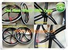 Bicycle Wheels/One Piece Wheels/Front Wheel and Rear Wheel with Tyres