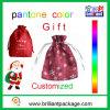 Merry Christmas Non Woven Nylon Gift Drawstring Bag