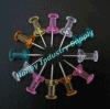 Regular Handle Shaped Plastic Head Thumb Tacks Push Pin (P160125B)