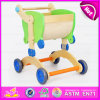 2016 New Design Wooden Baby Walker Toy, High Quality Wooden Baby Educational Walker Toy, 3 in 1 Wooden Walker Toy W16A016