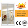 White Powder Coated Sliding Aluminum Alloy Glass Doors (SC-AAD007)