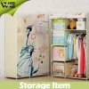 Foho 1 Door Assemble Single Small Fabric Wardrobe