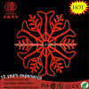LED Snowflake Red Hanging Snowflake Rope Christmas Light for Home Decoration