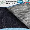 Indigo Twill Cotton Spandex Knitted Denim Fabric for Women′s Garments