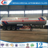 Hot Sale 45 Cbm LPG Gas Tank Bullet Trailer for Nigeria