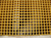 Flooring Construction Material FRP Molded Grating Sheet