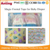 Customized Magic Frontal Tape Raw Material for Baby Diaper