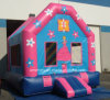 Children Princess Jumping Bed Inflatable Bouncy Castle