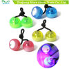 Hot LED Thumb Chucks Fidget Yoyo Luminous Begleri Flashing Finger Toys