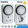 Mechanical Timer Socket 24 Hours Electrical Energy-Saving Mechanical Timer Socket Outlet Timing Switch for Home Appliances