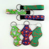 Promotional Neoprene Keychain Holder Keyring
