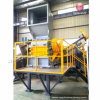 Waste Plastic Crusher Machine / Plastic Bottle Crushing Recycling Machine