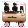 2X1400W 70L Air Brush DC Compressor Compressor Oilless Dental