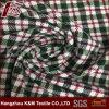 Check Pattern Elastic Custom Printed Rayon Polyester Fabric