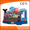 Inflatable 5 in 1 Combo Bouncy Castle for Kids (T3-909)