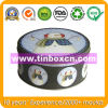 Round Tin Box for Christmas Packaging Box, Gift Tin Box