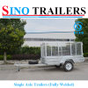 Hot Dipped Galvanised Single Axle Fully Welded Mini Trailer