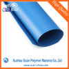 Transparent Red PVC Rigid Sheet Roll 0.5 Thick, One Side Glossy One Side Embossy Rigid PVC Sheet Roll for Drum Wrap