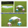 Hot Sale Factory Wholesale White Outdoor Baby Desk and Chair