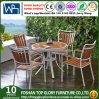 All Weathers Polywood for Outdoor Garden Stacking Metal Dining Chairs in Patio Bistro Restaurant (TG-1292)