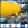 Mechanical Design of Large Three Drum Rotary Dryer for Sale