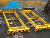 Semi-Auto Frame Steel Lifting Beam Container Spreader