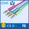 Fashion 3.5mm to 3.5mm Elastic Audio Cable Super Soft