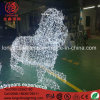 LED 3D Lion Animal Modeling Christmas Outdoor Decoration Light