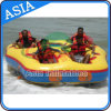 4-5 Person Inflatable Towable Tube Skie Boat/ Donut Boat Ride/ Fly Tube for Water Sport Games