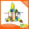 Manufacturer Plastic Slide Outdoor Water Playhouse for Sale