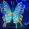 3D Butterfly Motif LED Light Christmas Holiday Light