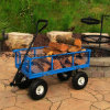 Heavy Duty Steel Crate Wagon with 1400 Lbs Capacity