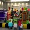 Police Theme Children Soft Indoor Playground Equipment