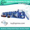 China Semi-Servo Baby Diaper Machine Manufacture (YNK450-HSV)