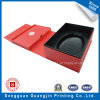 Paper Foldable Box with Plastic Mold for Packing Inside