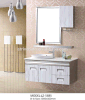 Hotel Waterproof Stainless Steel Bathroom Furniture Mirrored Cabinet