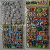 Self-Adhesive Custom PVC Foam Puffy Stickers for Kids Qrd-113