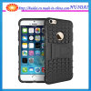 New Heavy Duty Tire Shockproof Hybrid Rubber Hard Armor Case for iPhone 6s with Stand