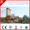 25m3/H Series Movable Concrete Batching Plant with SGS ISO9001