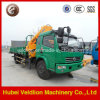 Best Hydraulic Truck with Crane with Knukled Boom