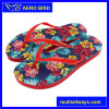 Unisex Colorful Flower Printing Fancy PE Slipper Shoes (T1611)