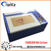 Mini Laser Machine 40W for Rubber Stamp Sheet Acrylic