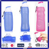 Pba Free No-Tolic Leakproof Food Grade Collapsible Silicone Bottle